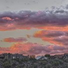 Vivid February Sunset