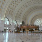 Union Station Hall in Washingtion DC