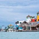 Lego fishing port