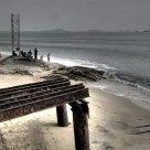 metal beach