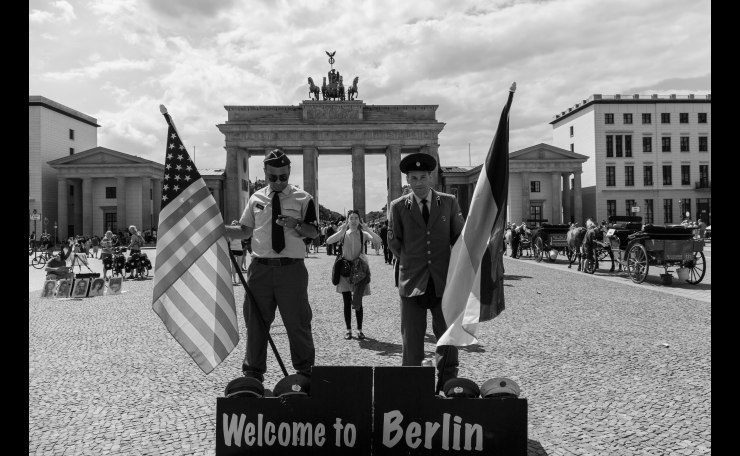 Welcome to Berlin! (B&W)