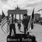 Welcome to Berlin! (B&W)