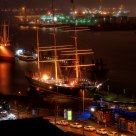 rickmer rickmers at night