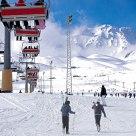Erciyeste kayak mevsimi