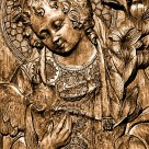 Carved Image of the Christ Child