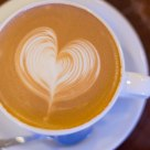A Heart-Shaped Latte