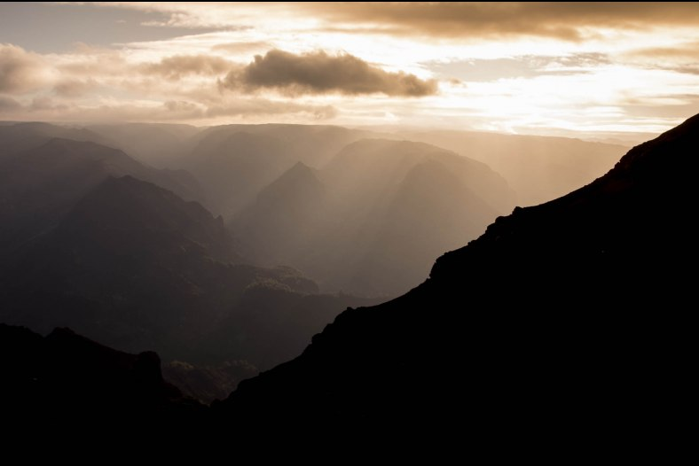 Waimea Canyon Sunrise