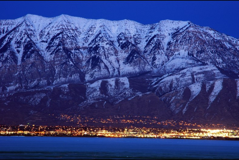 Provo at Night
