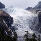 the mountain glacier