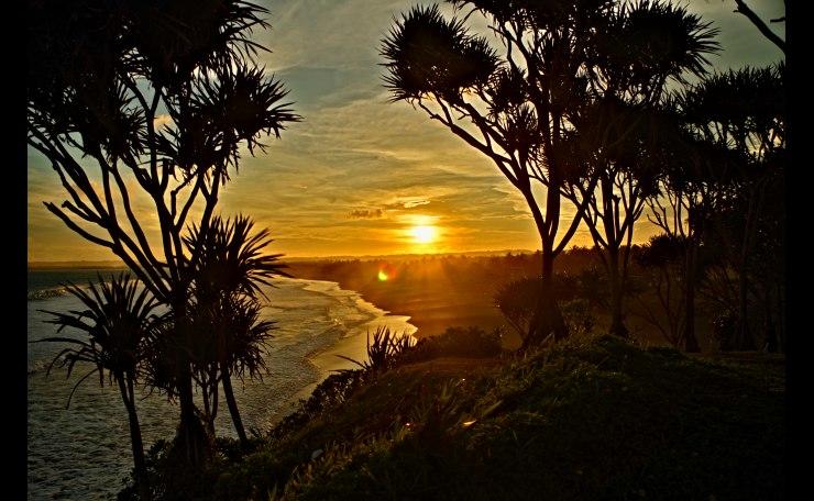 Sunset Pangandaran