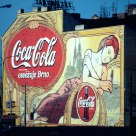 Brno Old CocaCola Poster