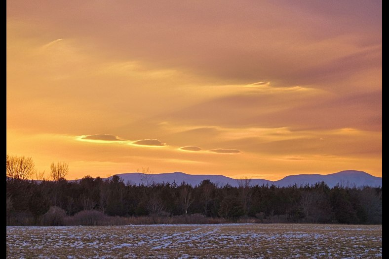 Sunset in the Catskills