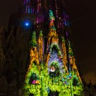 Sagrada Familia, light and sound