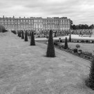 Privy Garden, Hampton Court Palace (B&W)