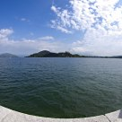 The lake Maggiore