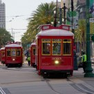 Street Cars on the Canal St.
