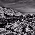 Pemaquid- a study in rock formations