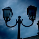 Streetlight in Monte San Vit