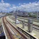 view from smith street station