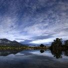 Sky vs lake