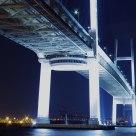 Yokohama night view ~Bay bridge