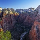 Sunrise at Angels Landing