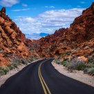 A Drive Through Valley of Fire