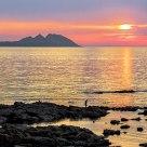 Vigo bay sunset