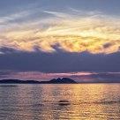 Vigo bay sunset II