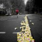 ...last marathon runner...