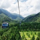 The Sun Moon Lake ropeway