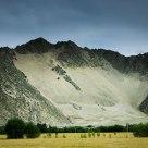 a hill in tibet