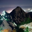Hua Mountain in Westen China