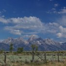 Grand Teton from Kelly