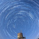 Star trails in Ladomány