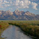 Grand Teton and Creeks