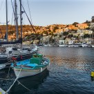 The Port of Symi Island