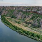 Perrine Bridge and Snake River near Twin Falls, ID