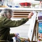 El pintor del puerto