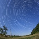 Startrails in Szedres