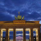 Brandenburg Gate, night
