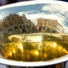 World inside a trumpet
