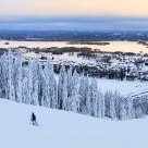 Skiing at Suomi