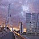 Twilight Erasmus Bridge