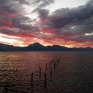 Red fire sunrise - Alba rosso fuoco