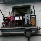 Cloth Drying Over Habana