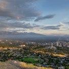 Ensign Peak in Salt Lake City