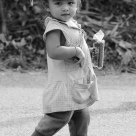 THE LIOVELY LITTLE GIRL FROM LAOS