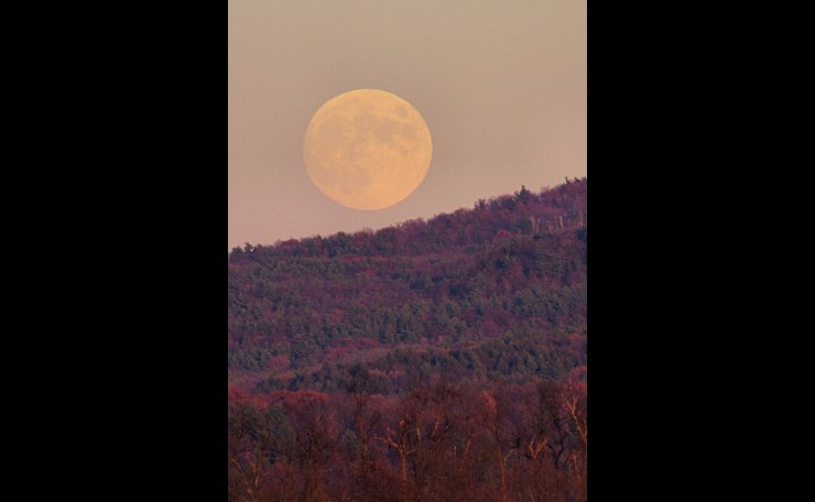 Taconic Moon Rise