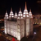 The Salt Lake Mormon Temple